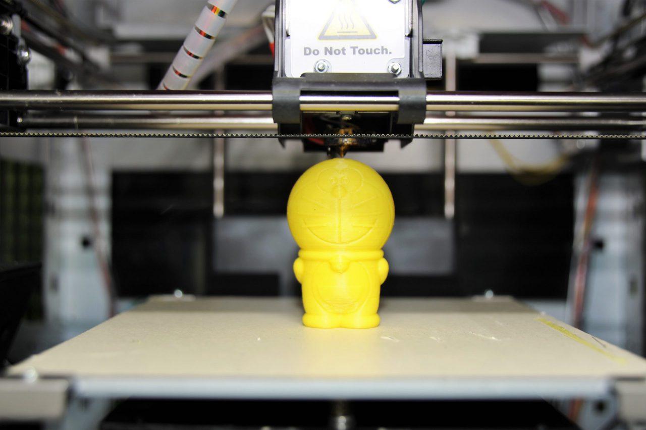 3Dプリンタで立体物